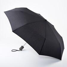 Fulton hoxton gents automatique pliant parapluie-cross print noir