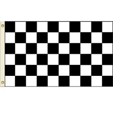 3x5 Advertising Checkered Checker Black White flag 3'x5' banner