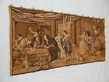 Vintage French Beautiful  Scene Tapestry 127x64cm T410