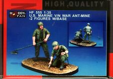 Hobby Fan 1/35 HF-555 US Marine Vietnam War ANT-Mine - 2 Figures with Base