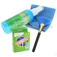 Laptop LCD Display Screen TV Monitor Cleaning Kit 3in1 Cleaner Cloth Brush
