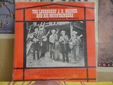 JE MAINER AND HIS MOUNTAINEERS, OLD TIME MOUNTAIN MUSIC RURAL RHYTHM LP RRJE 185