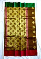 Rvold Regular Wear Traditional Handloom Silk Saree with Rich Pallu,Jari Border 6