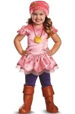 PINK PIRATES COSTUME 2T Toddler Girls Izzy Jake Neverland Halloween Disney NEW