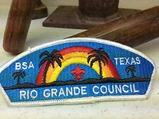 BSA TEXAS RIO GRANDE COUNCIL TEXAS BOY SCOUT PATCH