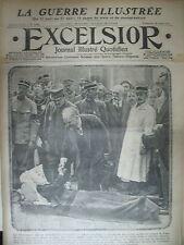 WW1 N° 1748 POINCARé ET BLESSé FRONT ITALIEN GUERRE DE MONTAGNE EXCELSIOR 1915