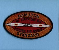 HAMILTON STANDARD PROPELLER SCREW WORLD USAF NAVY USMC Squadron Aircraft Patch