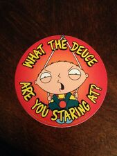 Family guy stewie sticker Brand New
