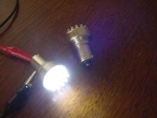 2 ampoules à led BLANC  pur, veilleuse ou autre - P21W