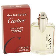 Cartier Declaration Men's EDT 12.5ml 0.42oz Spray in original sealed pack