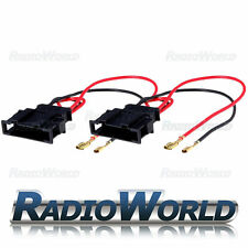 VW Volkswagen Golf MK4 Polo Passat Bora Speaker Adaptor Lead Cable PC2-807 Pair