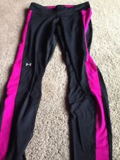 Under Armour Womens UA Coldgear Fitted Leggings. Size Large. New W Tags.
