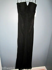 NWT GILAR SILK CHIFFON SPAGHETTI STRAP SZ 4 PAGEANT PROM EVENING GOWN DRESS $315