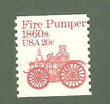 1908 Fire Pumper Us Coil Single Mint/nh (Free shipping offer)