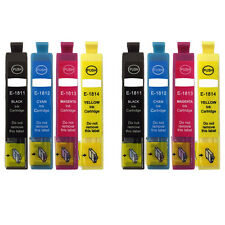 8 Ink Cartridges for Epson Expression Home XP-402 XP-415 XP-205 XP-302