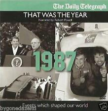 THAT WAS THE YEAR - 1987 NARRATED BY ROBERT POWELL EVENTS WHICH SHAPED OUR WORLD