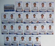 Equipe Complète FASSA BORTOLO 2002, 25 Cartes Cyclisme