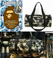A Bathing Ape Bape 1ST Camo Shoulder Handbag Cylinder Bag From Japan Magazine