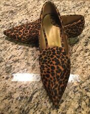 Leopard Print Kitten Heel Christian Siriano for Payless Women's Shoes Sz 12