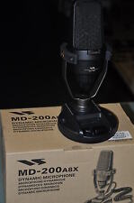 Yaesu MD200A8X  top of the range studio quality desktop microphone BRAND NEW