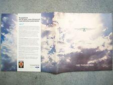 1980 THUNDERBIRD BROCHURE