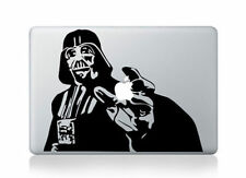 "DARTH VADER Laptop Decal fits Apple Macbook Pro 13"" custom made vinyl decal"