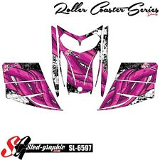 SLED WRAP DECAL STICKER GRAPHICS KIT FOR SKI-DOO REV MXZ SNOWMOBILE 03-07 SL6597