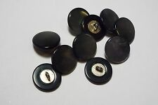 8pc 20mm Green Mother of Pearl Mock Shell Coat Blazer Cardigan Dress Button 2900