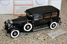Franklin Mint 1930 Cadillac V16 Al Capone's Armored Car 1:24 Scale Diecast Model