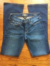 Lucky Brand Sofia Boot Cut Stretch Medium Houston Wash Jeans Sz 2 / 26 (E#1080)