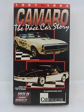 1967 to 1993 Camaro The Pace Car Store VHS Video Tape