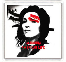 MADONNA - AMERICAN LIFE LP COVER FRIDGE MAGNET IMAN NEVERA