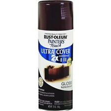 New Rust-Oleum 1977830 Painters Touch 12 oz Gloss Spray Paint, Kona Brown