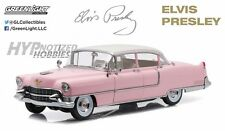 GREENLIGHT 1:18 ELVIS PRESLEY - 1955 CADILLAC FLEETWOOD SERIES 60 PINK 12950