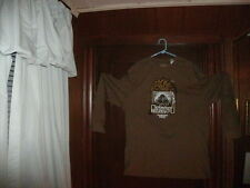 Timberland t-shirt brown long sleeve nature & city with ducks size XXL NEW