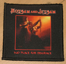 "Flotsam And Jetsam ""No Place For Disgrace"" silk screen Patch"