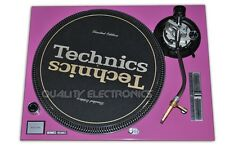 Technics Face Plate For Technics SL-1200 / SL-1210 MK5/ M3D Turntable (Pink)