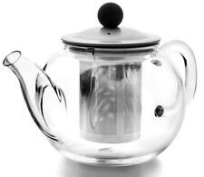 TEEKANNE AUS GLAS 600 ML TETERA DE CRISTAL AGUA GLASS TEAPOT WITH FILTER THEIERE