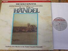 412 444-1 Handel Solo Sonatas / ASMF Chamber Ensembles 5 LP box