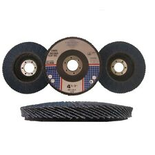 "30 Pack 4.5"" x7/8"" Jumbo Zirconia Flap Disc Grinding Wheel 40 60 80 Grit Bundle"