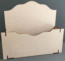 Y50B post mail lettre colis rack holder display craft decoupis mdf laser cut