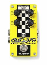 DigiTech CabDryVR Dual Cabinet Simulator Guitar Effects Pedal