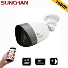 SUNCHAN 2.0MP AHD 1080P Array Led Bullet Outdoor HD Security CCTV Camera Night