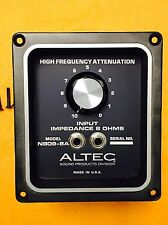 ALTEC N809-8A CROSSOVER NETWORK VOICE OF THE THEATER Excellent w/EXTRAS NICE A1