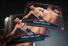 Mirko Cro Cop Filipovic UFC 2011 Topps Finest Card #98 137 115 110 99 67 Pride
