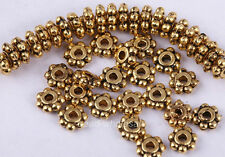 Wholesale 300pcs Antique Silver/Golden/Bronze Flower Daisy Spacer Bead 6mm