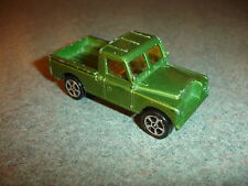 Old Vtg Antique CORGI Juniors Whizzwheels Land Rover Toy Truck Great Britain