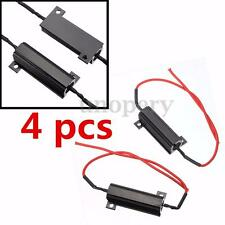 4x Car 50W Load Resistor LED Flash Rate Turn Signals Indicator Light Relay Bulb
