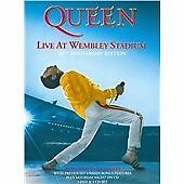 QUEEN LIVE AT WEMBLEY STADIUM 2 DVD & 2 CD NEW SEALED 25TH ANNIVERSARY EDITION