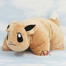Pokemon Eevee Pillow Pet Plush Cushion Transforming Pillow Cushion Doll 38×33CM